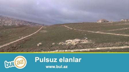 Abşeron rayonunda gözəl panoramaya baxan 10 sot torpaq sahəsi satılır...