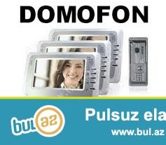 Tehlukesizlik: Domofonlar / Musahide kameralari ve sistemleri – satis ve qurasdirma...