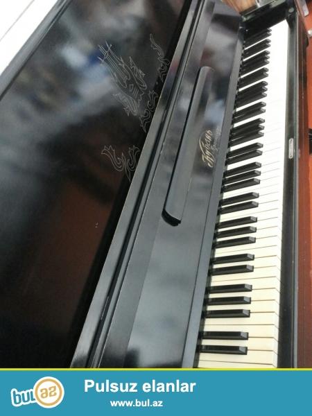 Kuban markalı qara pianino satıram,az işlənib yaxşı vəziyyətdədir.