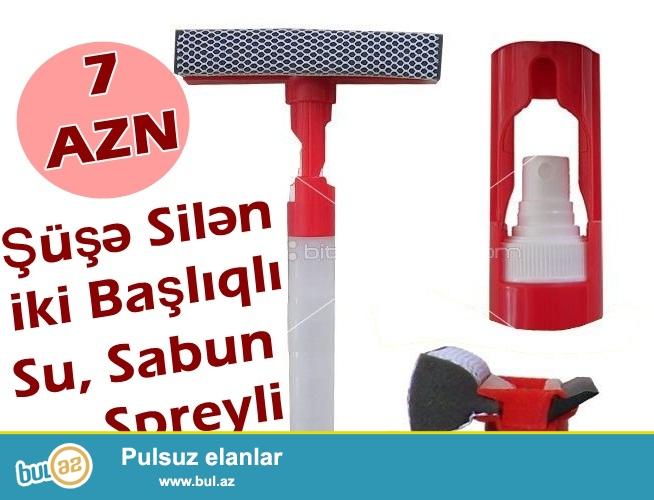 Spreyli şuşə silən-İNDİ 7 AZN