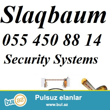 Slaqbaum <br /> <br /> Slaqbaumlar – esasen neqliyyat vasitelerinin daha cox oldugu erazilere qursdirilan tehlukesizlik sistemidir...