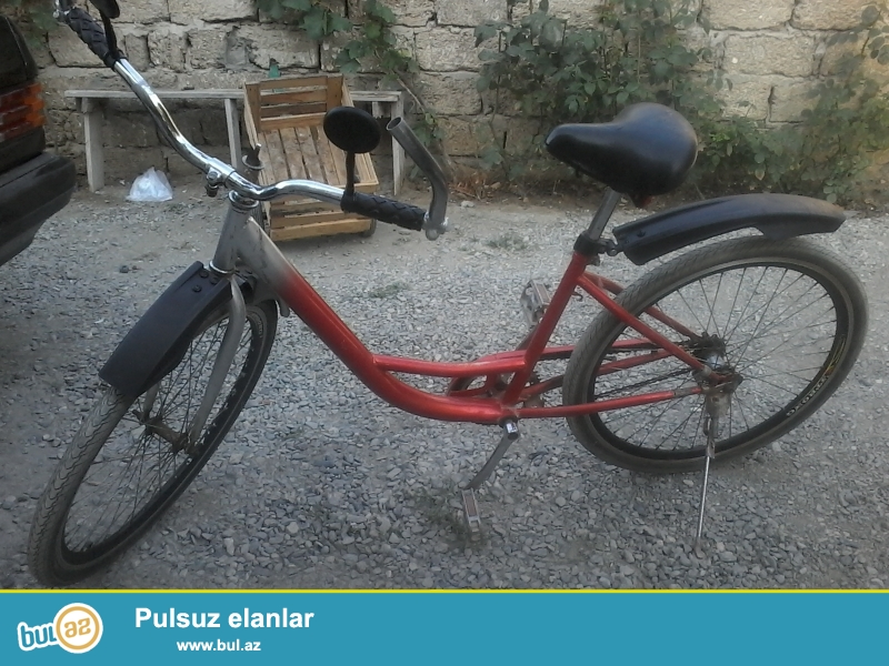 yaxsi velosipeddir 200 ay di isleniliib desnadir 26 liq qabag topla arxa top tezedir alsaniz uduzmasiniz