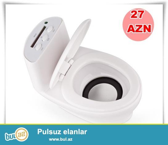 Unitaz mp3 player-İNDİ 27 AZN<br /> Çatdırılma: PULSUZ