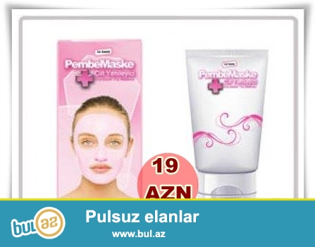 Pəmbe maske-İNDİ 19 AZN
