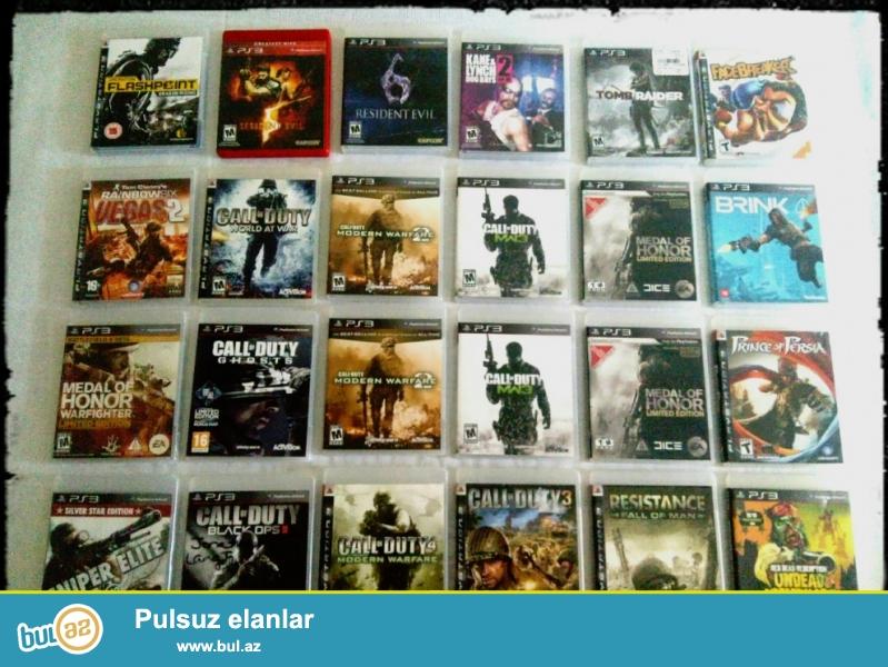 Playstation 3 (PS3) disklər ,Endirimli qiymətlərlədir ...