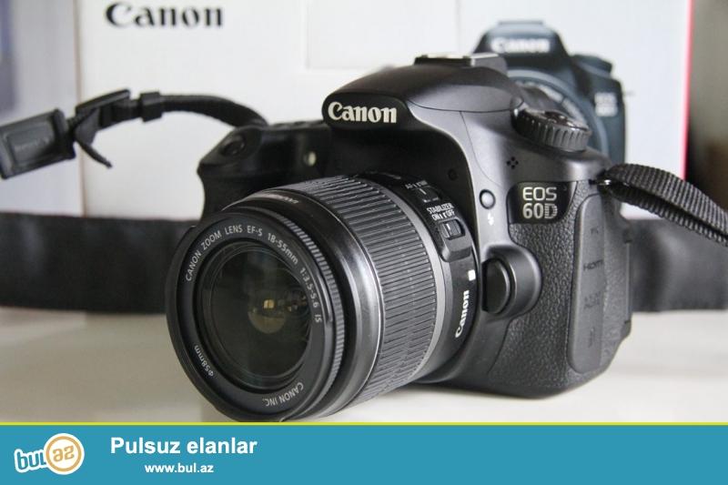 Canon 60D (18-55mm) +Yongnuo 560 II + Varta batareya desti...