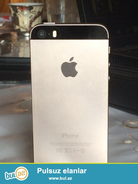 Az  işlənmiş telefon    iphone 5s  satıram.özümündü əla işləyir cızığı yoxdu