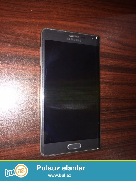 Samsung Galaxy Note Edge satılır Təcili <br /> Çox az işlənib <br /> 3gb Ram<br /> 16 megapiksel kamerası<br /> 32 gb yaddaş+ 8 gb SD kart<br /> İdeal vəziyyətdədir <br /> H'r bir aksessuar; yerindedir<br /> Real alıcıya endirim edərəm