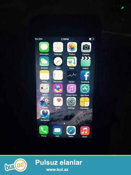 Iphone 6 (64gb) pod orginal satilir cox tecili - yalniz real alicilar narahat etsin ! Ustunde adaptor nsuwnik usb verilir ! Awaqi yeri yoxdu !
