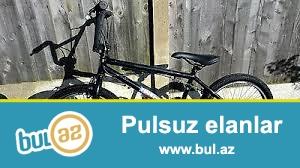 bmx velosipedi   ela veziyyetde  qara rengde  200 azn asag yeri  yoxdur yalniz  ciddi olanlar narahat etsin  0559229427 055 2097217