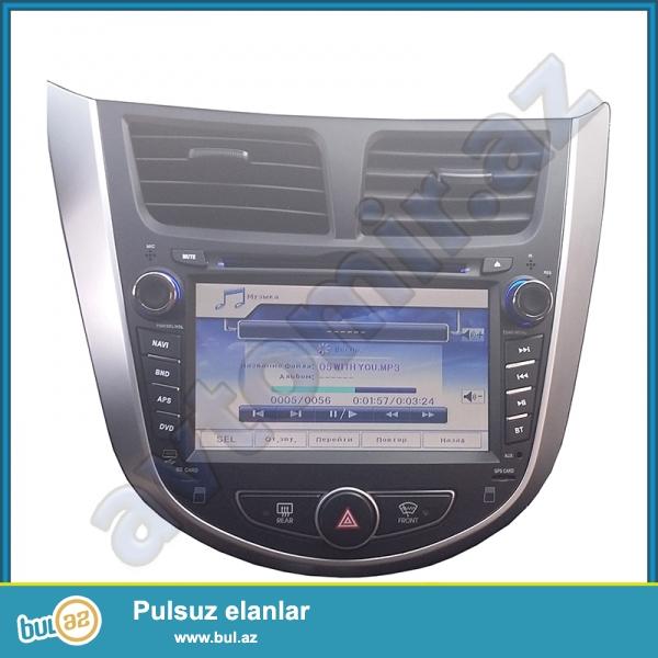 DVD-монитор для Hyundai Accent 2010-2014 ...