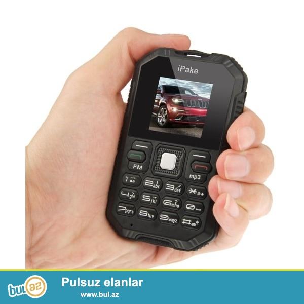 YENİ.ÇATDIRILMA PULSUZ<br /> Yeni 2015 Şok və Sukeçirməyən Ultra nazik iPake Q8 Mini Mobil Telefon<br /> Specification:<br /> Brand iPake<br /> Görünüş növü Straight<br /> Ölçü 9...