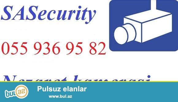 Tehlukesizlik kamera sistemi. Guvenlik sistemleri<br /> <br /> Azerbaycanin istenilen bolgesi ucun tehlukesizlik kameralari, nezaret sistemlerinin satisi ve qurasdirlimasi xidmeti SASecurity sirketi terefinden heyata kecirilir...