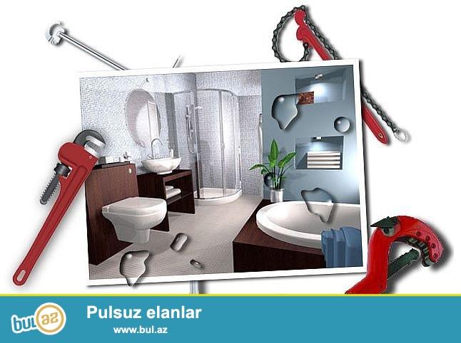 Сантехнические услуги в Баку от компании «Perfect Service LLC» - это оперативная и профессиональная помощь специалистов в решении бытовых проблем в любое время дня и ночи...