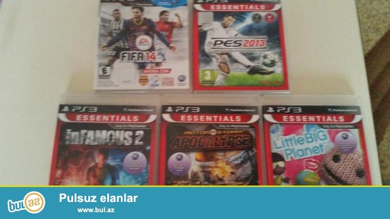PES 2013,FIFA 14,İNFAMOUS 2,APOCALYPSE,LittleBigPlanet