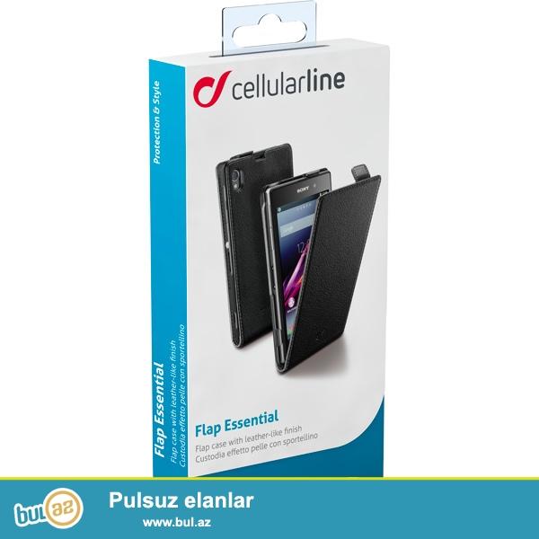 Cellular Line Flap Xperia Z1-hər gün üçün ciddi bir modeldi...