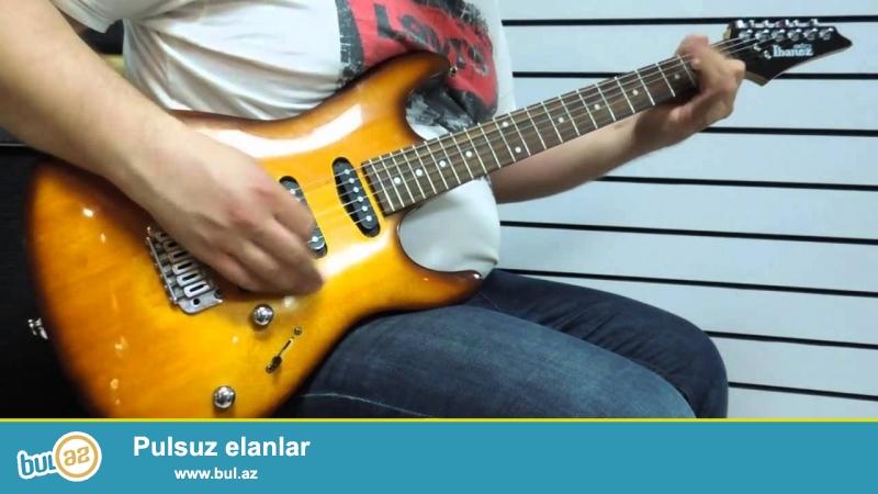 Ibanez firmasina Mexsus GDA60 modeli. <br /> Bu model Gitara esasen daha cox Blues Funk Rock ucun nezerde tutulub...