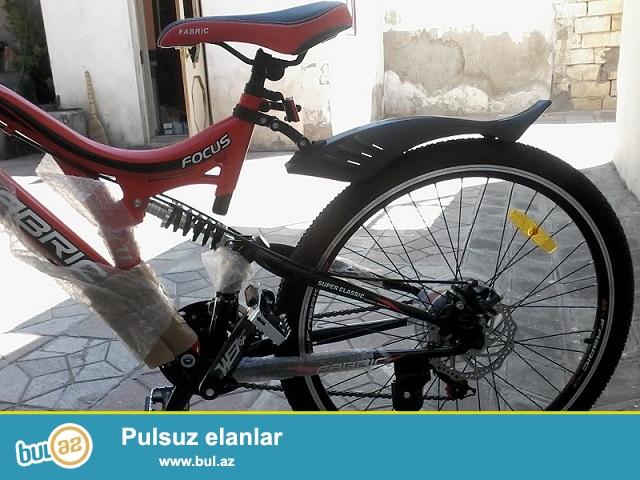 Teze velosipedi , xaricden getirmishem. karobkasi senedi var...