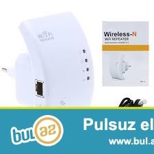 Wifi repetr modem-İNDİ 24 AZN