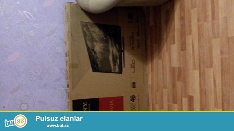 Təcili yeni,işlənməmiş,qutuda Sony Bravia 46ex520 markalı rəqəmsal,led,smart,117sm dioqonal,3D funksiyalı,usb çıxışı olan televizor satıram...