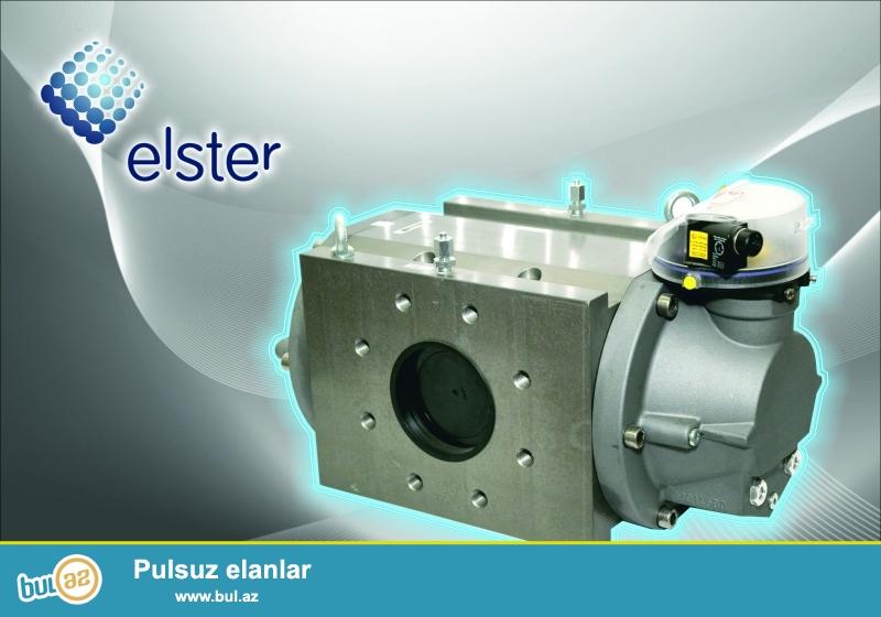 Almanya istehsalı olan Elster qaz sayğaclarının rəsmi numayəndəliyi...