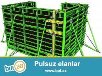 Ayarli dairesel perde kaliplari<br /> Asansör  Şaft kalıp sistemleri<br /> KOLON ve perde kalıpları<br />