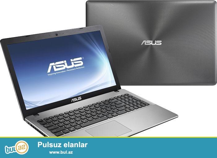 Asus <br /> Pro:i5 <br /> Ram:8GB <br /> Vga:1GBNvidia <br /> Hdd:1TB <br /> Zaratka saxlayirI...