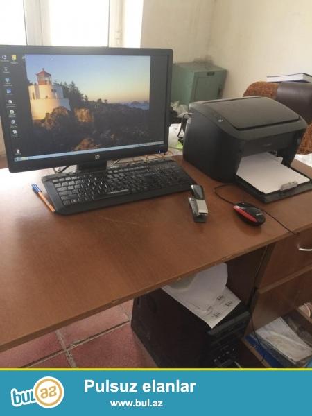 Mağaza üçün avadanlıqlar satılır, Kompyuter + printer + 1c program 1...