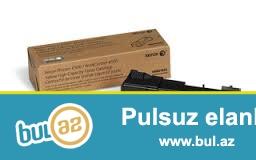 ПРОДАЮТСЯ <br /> Тонер-картридж Xerox 106R01604 Black для Phaser 6500 / 6505 -90 AZN <br /> Тонер-картридж Xerox 106R01603 Yellow для Phaser 6500 / 6505 -90 AZN <br /> Тонер-картридж Xerox 106R01602 Magenta для Phaser 6500 / 6505 -90 AZN <br /> Тонер-картридж Xerox 106R01601 Cyan для Phaser 6500/6505 -90 AZN