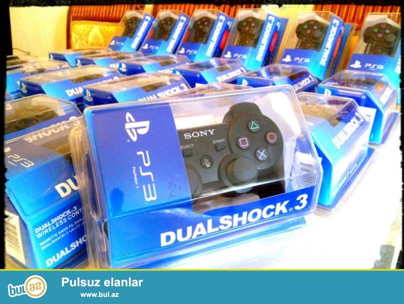 Playstation 3 (PS3) jostik ,. Azerbaycanin butun bolgelerine (Sumqayit , Gence ,Naxcivan , Quba ve s,) gonderilir ...