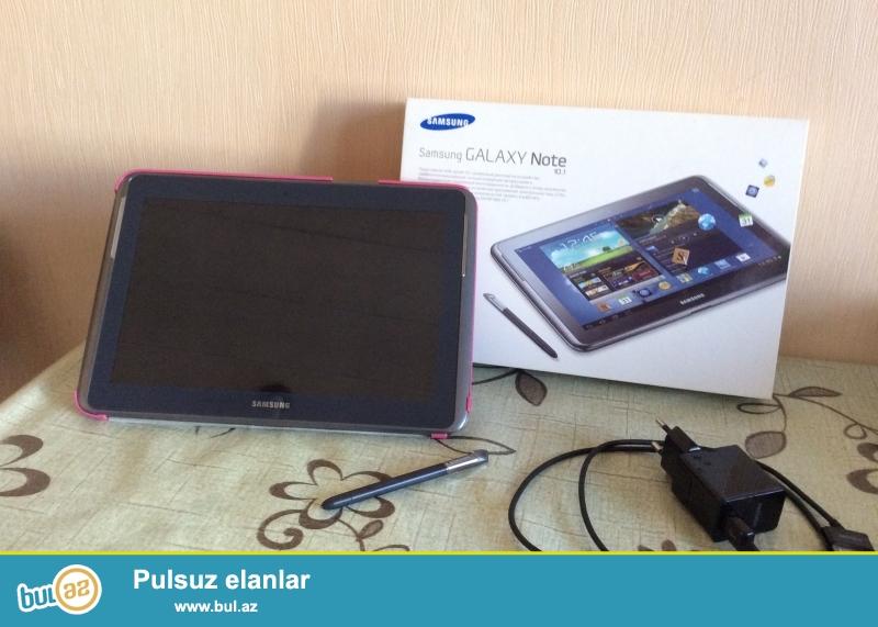 Samsung Note 10.1 N8000 satilir. Yaxshi veziyyetdedir, temirde olmayib, hec bir problemi yoxdur...