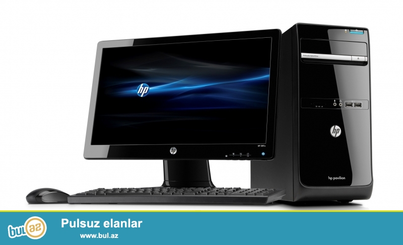Ucuz qiymətə az işlənmiş dəst kompyuterlər satılır...