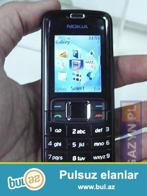 Nokia 3110 telefonu 20 manat satılır. Telefon işlək vəziyyətdədir...