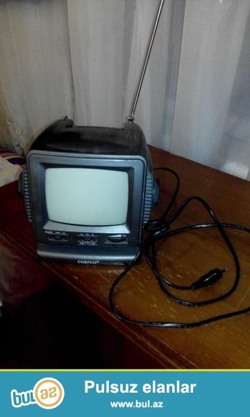 Salam eleykum mini televizordu toknan isleyir amma hetta batereyka yeride var toksuzda yani baxmaq olur tvye  Fuad wapcata var 055 622-00-46