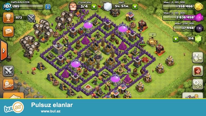 Clash of Clans 107 level satiram.Kral ve Kralica 11 level...