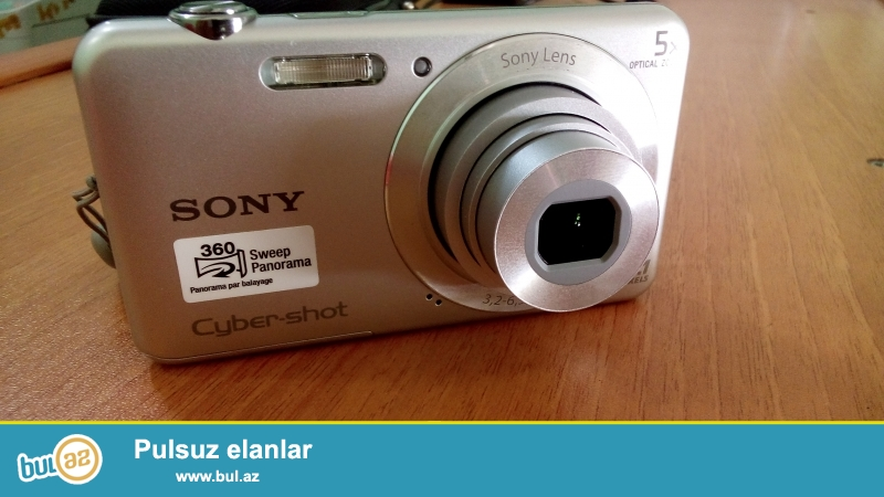 ELA VEZIYYETDEDI <br /> COX  AZ ISLENIB<br /> Fotokamera Satilir Sony DSC-W710