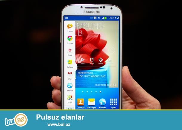 Samsung Galaxy S4-240azn<br /> Əla vəziyətdə<br /> 0558869911 Ruslan<br />