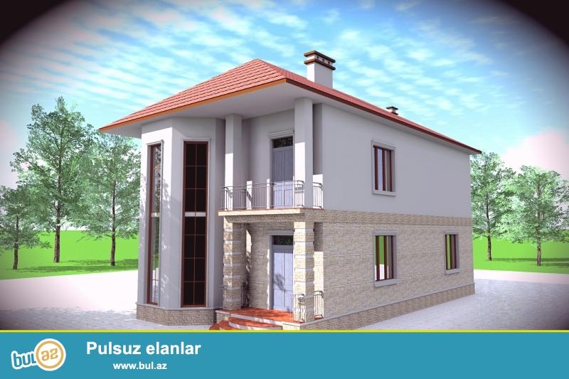 Badamdarda, 3-cü massivdə 2 mərtəbəli tam təmirli villa satılır...