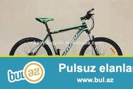 Hubu m138 velosipedi satiram hec bir problemi yoxdu reni qara yasil 165azn