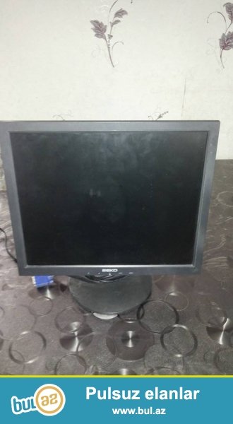 tecili 17 ekran beko ld monitor satilir sekiller monitora aiddir elave melumat ucun zeng edin