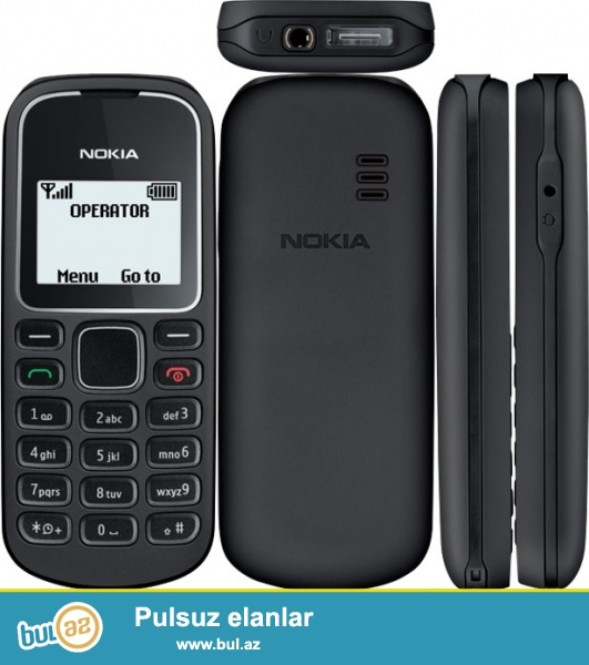 Salam Nokia 1280 telefonu tecili olaraq satilir. Adaptiri var! Telefon saz veziyyetdedir...