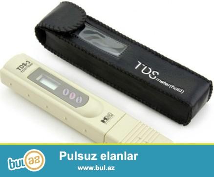 TDS tester<br /> Suyun keyfiyyətinin ölçülməsi üçün cihaz...
