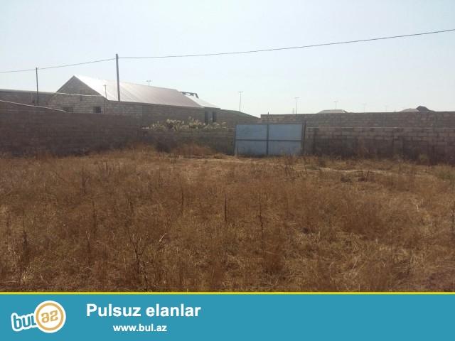 Xəzər rayonu, Buzovna Mərdəkan yolunun 30 metrliyində 4 sot torpaq sahəsi satılır...