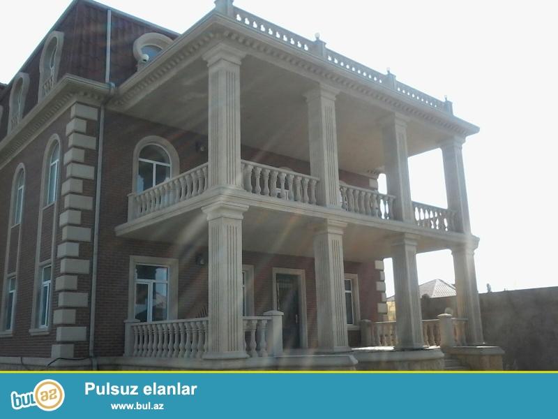 Novxanıda dənizdən təqribi 200-300 metr aralıda 24 sot torpaq sahəsinin içərisində Villa satılır...