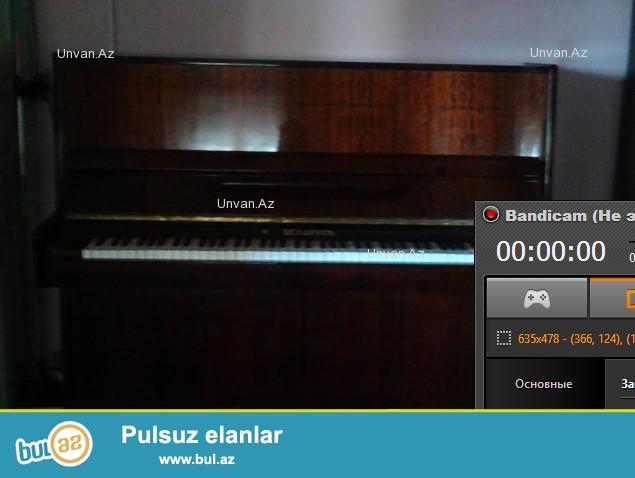 Pianino satilir ela veziyyetde.Belarus markasi yaxwisi...