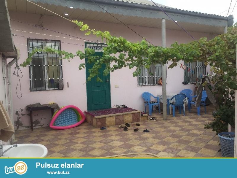 ЭКСКЛЮЗИВ! Сабунчинский район около Абу Петрол продается 1 этажный дом  на 1,5 сотках земли, 3 комнат...