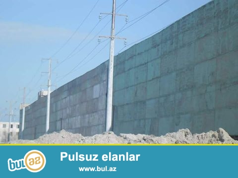 Babek prospekti, yolun üstündə 3 hektar özel torpaq satlılır...