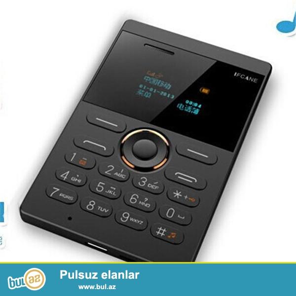 Yeni.Dünyanın nazik və kredi kartı boyda telefonu...
