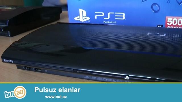 Playstation 3 super slim satiram proshivka olunmur 1 ildi ev sheraitinde ishlenib<br />