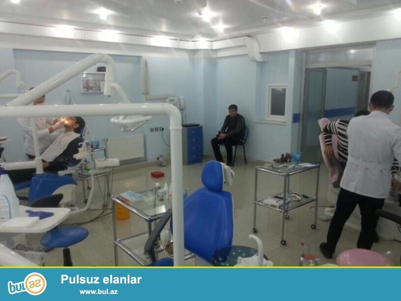 Tam Müasir avadanlıqlarla təchiz olunmuş stomotoloji klinika icarəyə verilir...